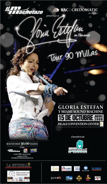 Gloria Estefan Tour 90 Millas